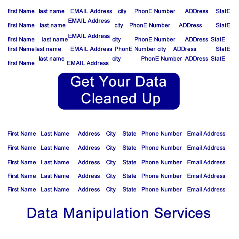 Data Manipulation Services