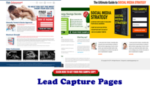 Lead Capture Pages